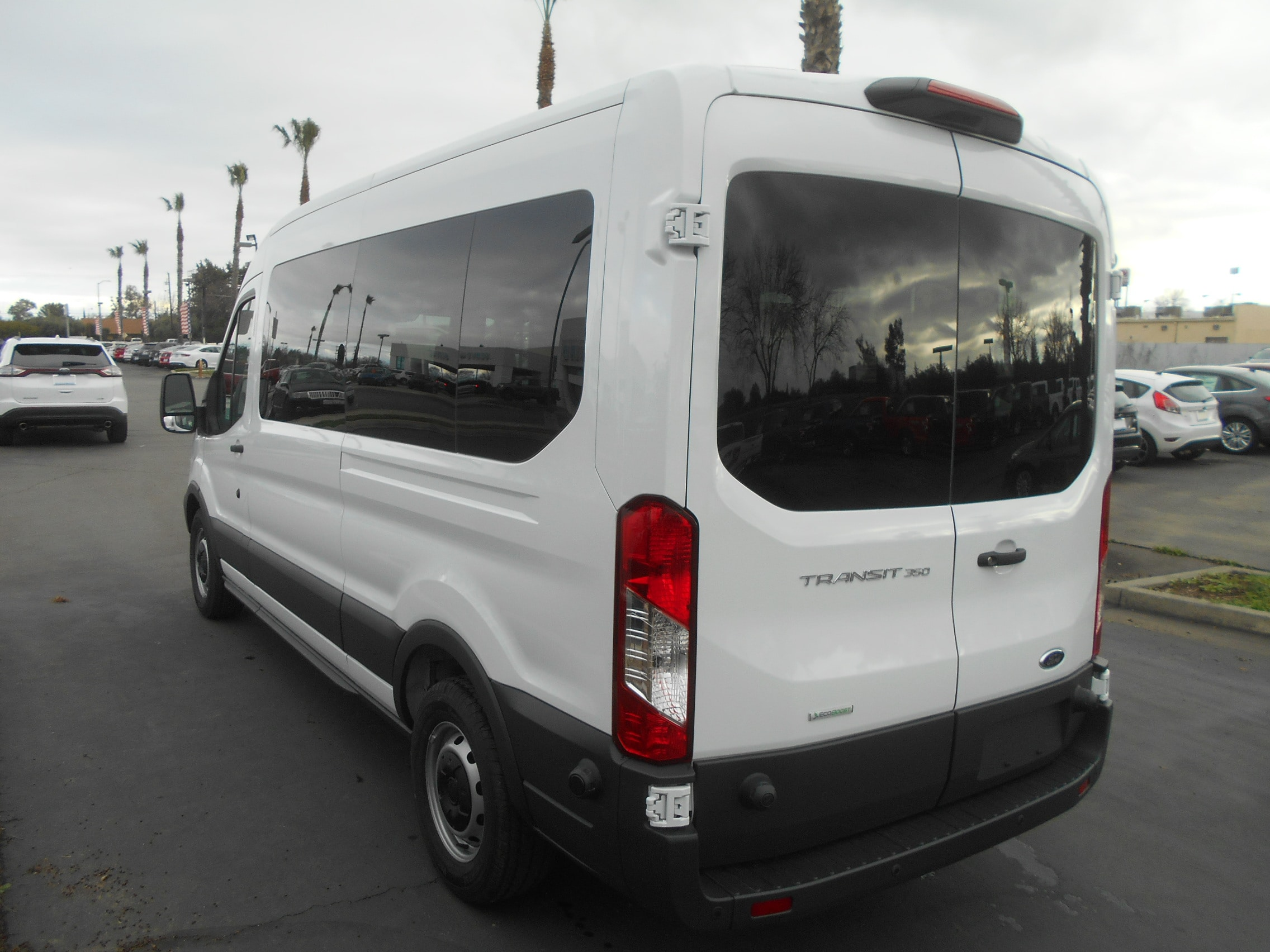 2018 Transit 350 Med Roof,  Passenger Wagon #52566 - photo 2