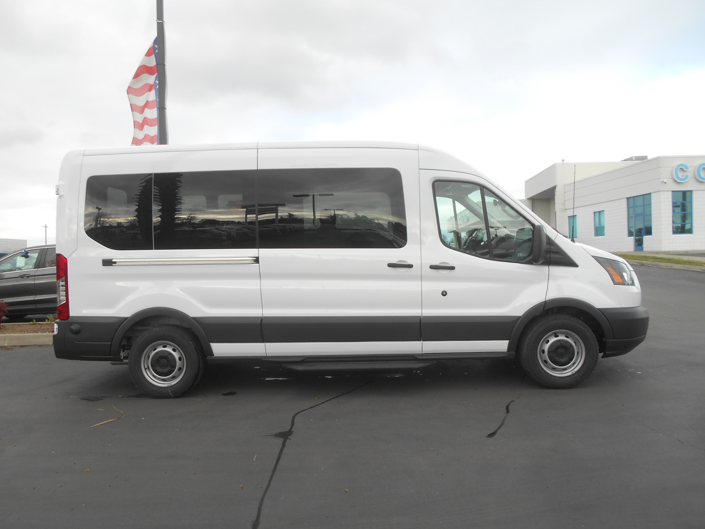 2018 Transit 350 Med Roof,  Passenger Wagon #52566 - photo 8