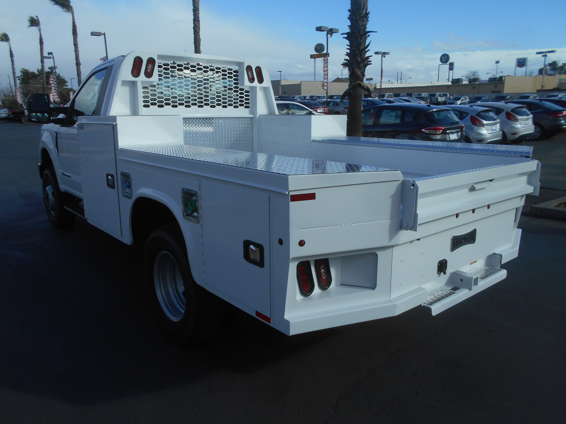 2017 F-350 Regular Cab DRW 4x4, Knapheide Hauler Body #52627 - photo 2