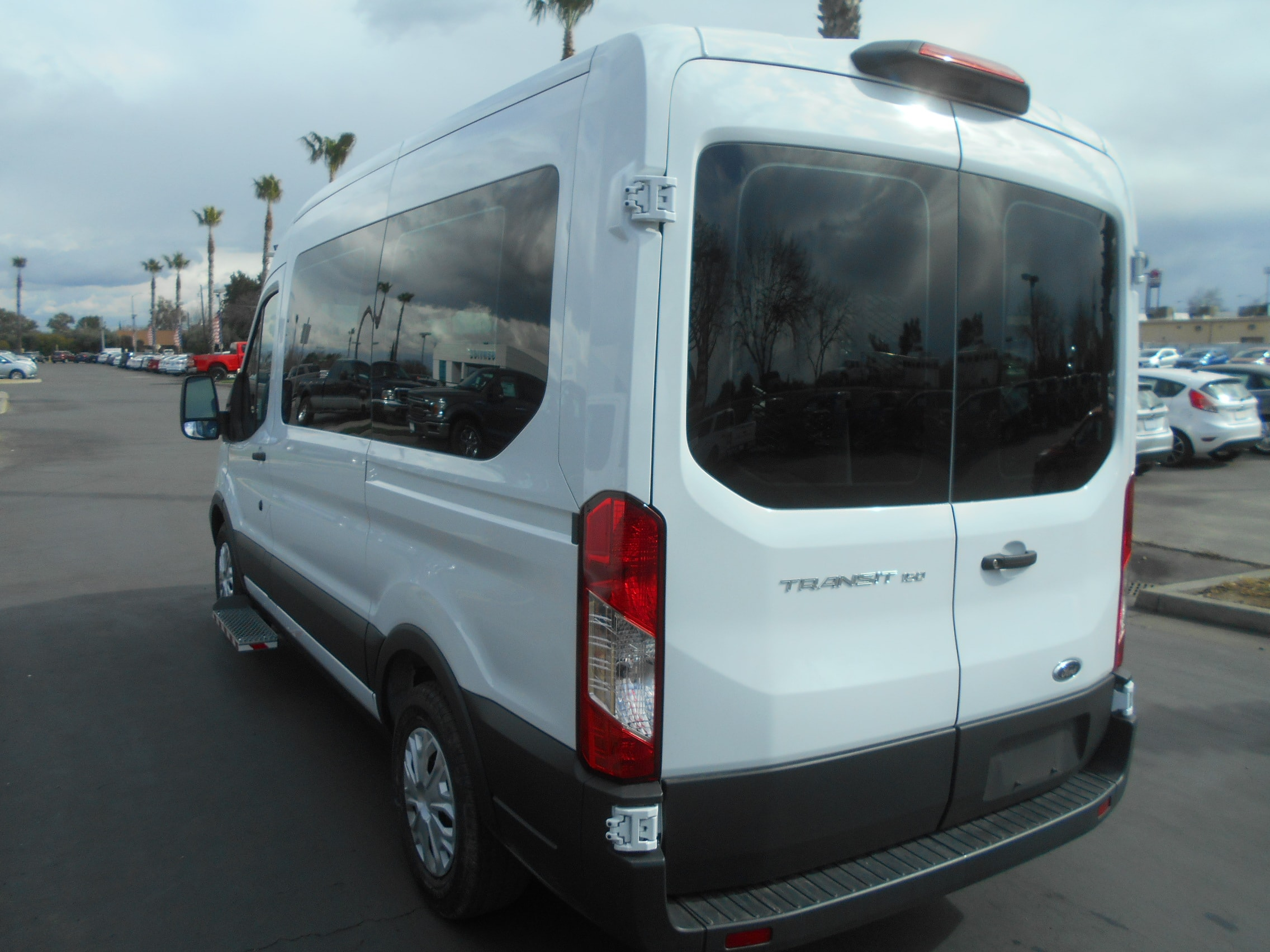 2018 Transit 150 Med Roof 4x2,  Mobility #52836 - photo 12