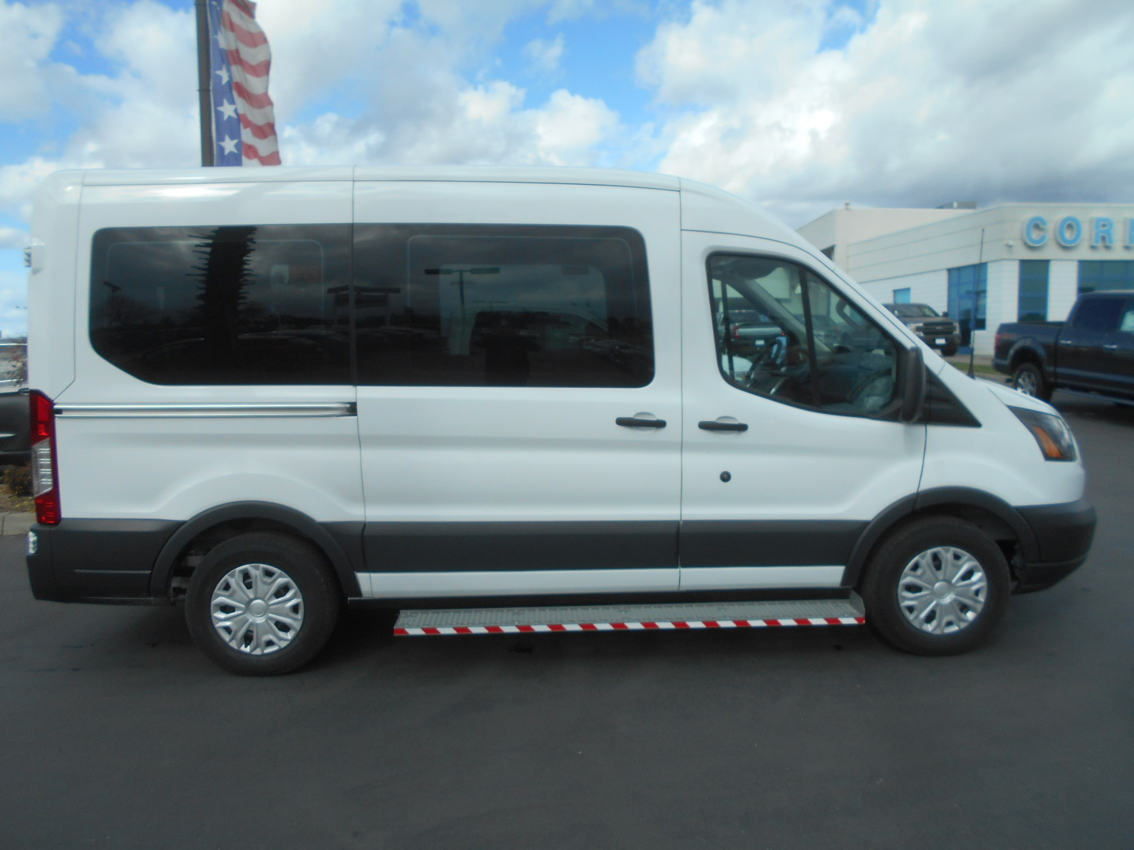 2018 Transit 150 Med Roof 4x2,  Mobility #52836 - photo 8
