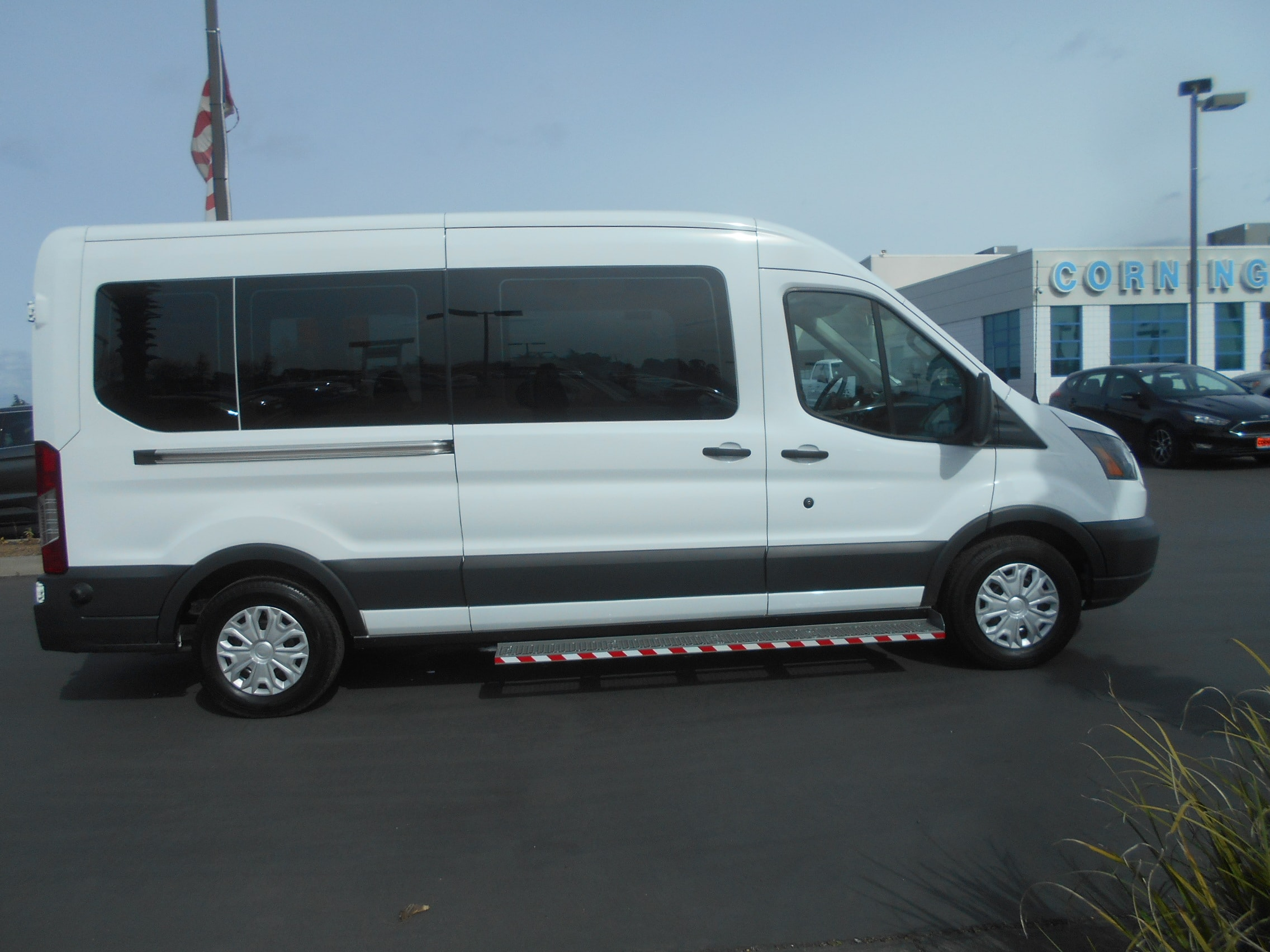 2018 Transit 350 Med Roof 4x2,  Mobility #53054 - photo 9