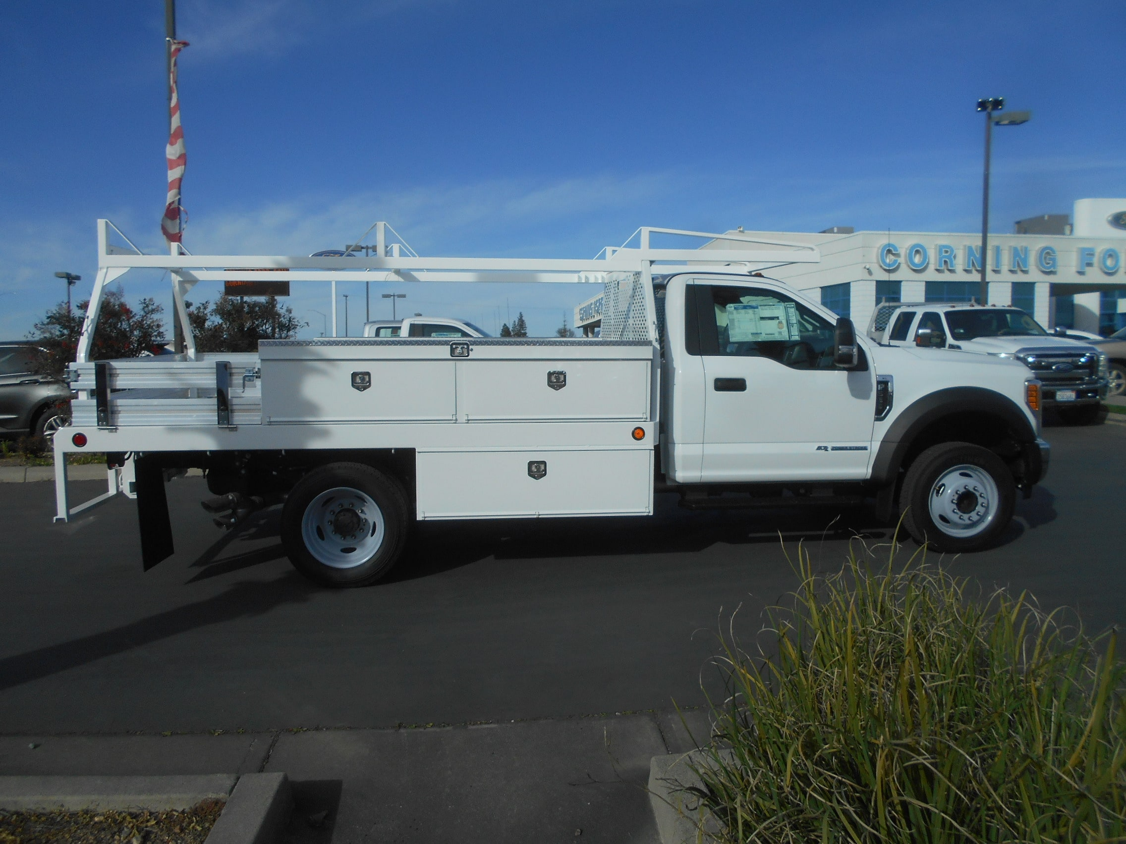 2017 F-550 Regular Cab DRW, Contractor Body #53198 - photo 7