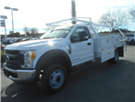 2017 F-550 Regular Cab DRW, Contractor Body #53198 - photo 1