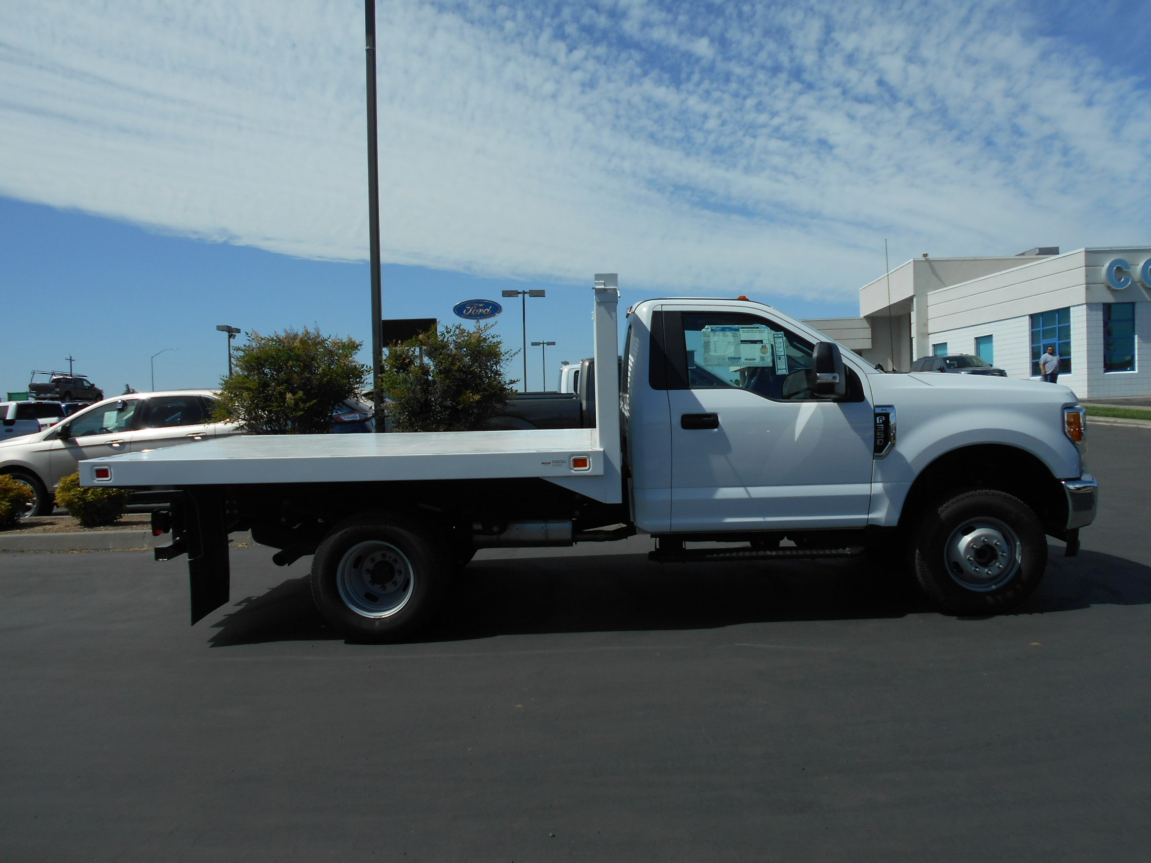 2017 F-350 Regular Cab DRW 4x4,  Knapheide Value-Master X Flatbed #53208 - photo 7