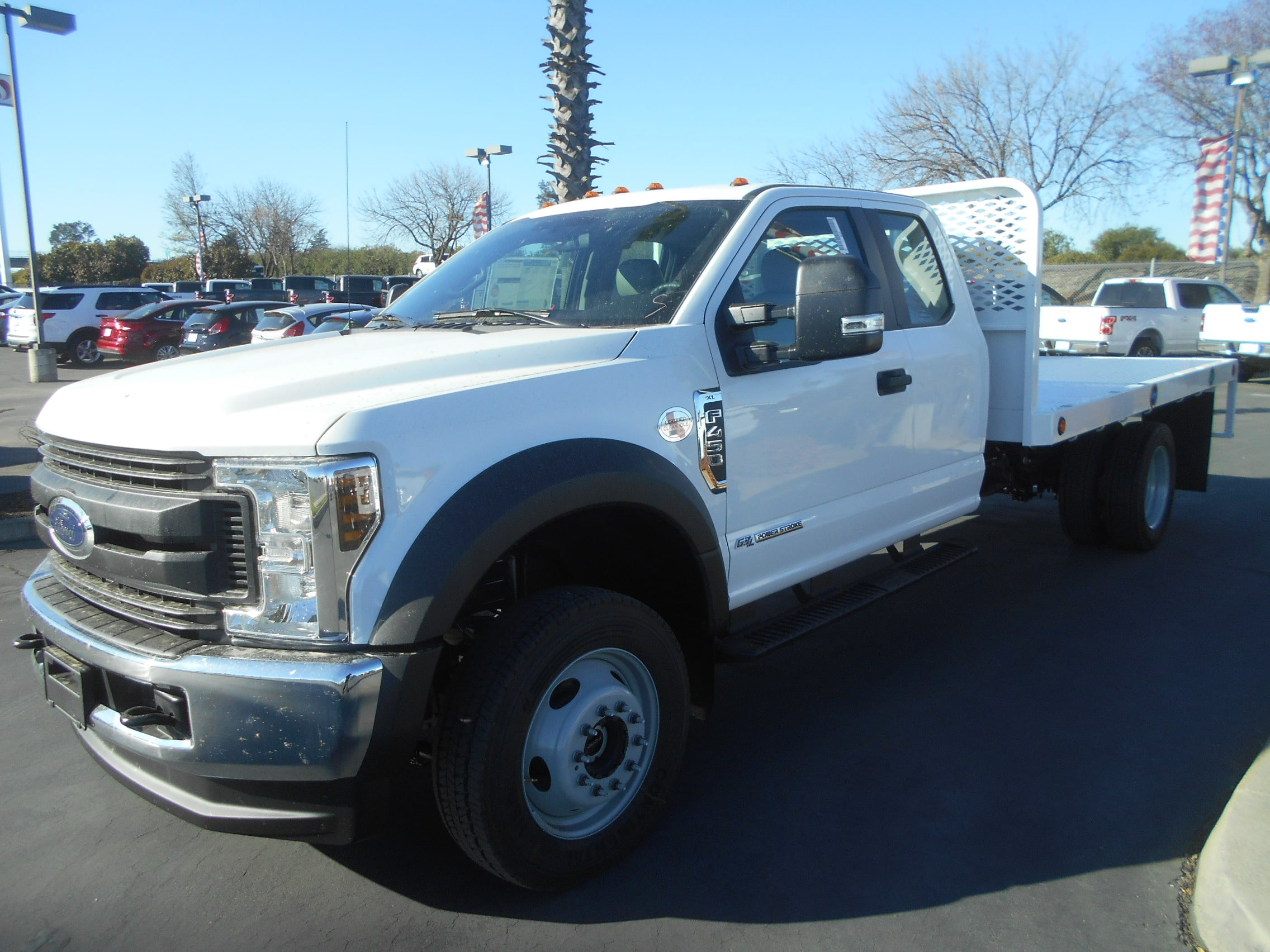 2018 F-450 Super Cab DRW 4x4,  Scelzi WFB Flatbed #53314 - photo 1