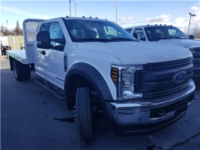 2018 F-450 Super Cab DRW 4x4,  Scelzi WFB Flatbed #53314 - photo 3