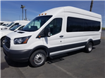 2018 Transit 350 HD High Roof DRW,  Passenger Wagon #53343 - photo 1