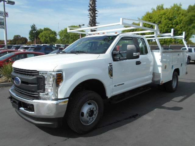 new 2018 ford f-350 super cab, service body | for sale in corning, ca