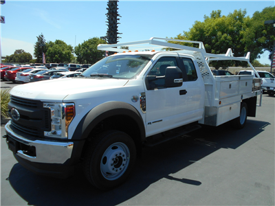 2018 F-450 Super Cab DRW 4x4,  Scelzi CTFB Contractor Body #53661 - photo 1