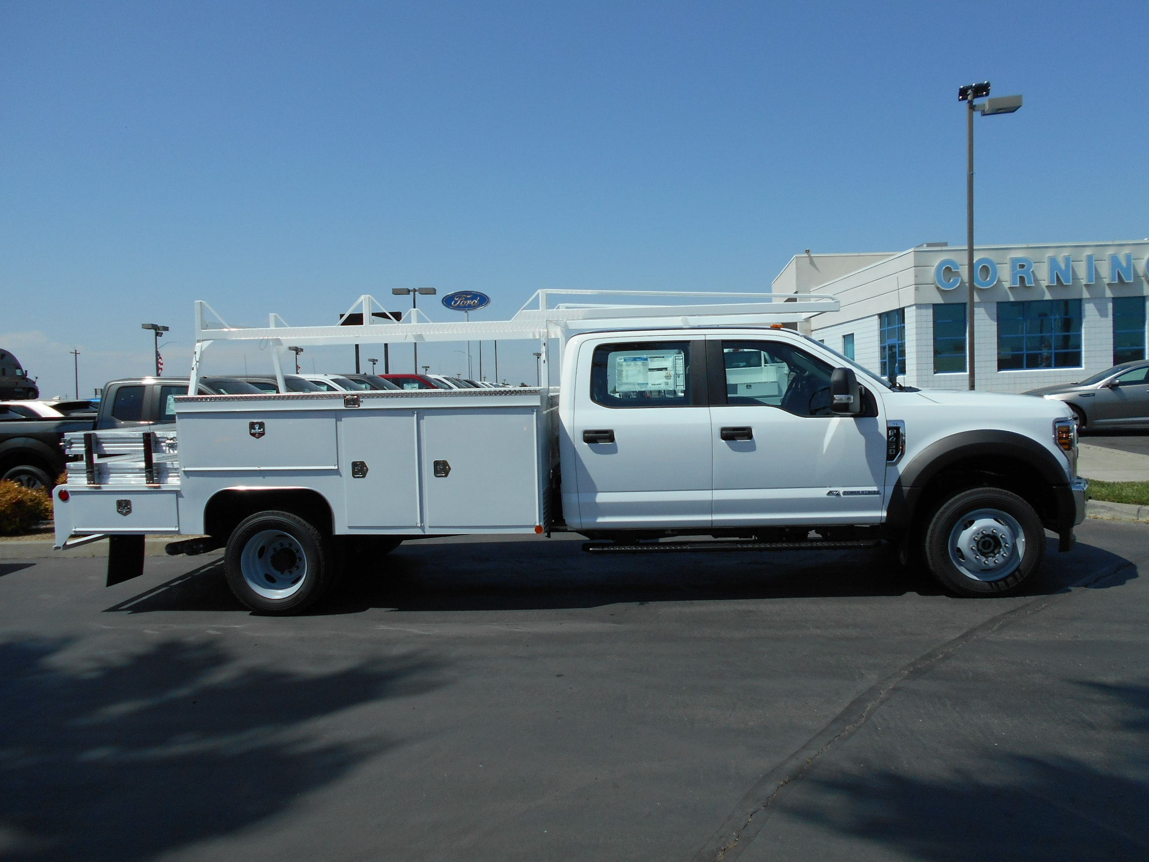 2018 F-450 Crew Cab DRW 4x4,  Scelzi Combo Body #53699 - photo 7
