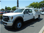 2018 F-450 Crew Cab DRW 4x4,  Scelzi Combo Body #53728 - photo 1