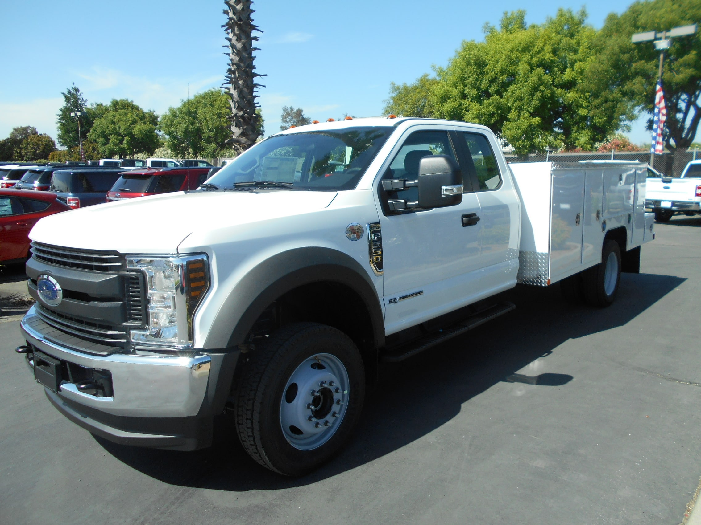 2018 F-550 Super Cab DRW 4x4,  Scelzi Signature Service Body #53815 - photo 1