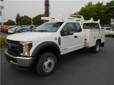 2018 F-450 Super Cab DRW 4x4,  Scelzi Signature Service Body #53850 - photo 1