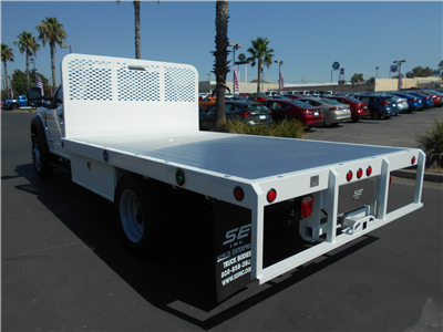 2018 F-550 Regular Cab DRW 4x2,  Scelzi WFB Flatbed #54037 - photo 2