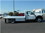 2018 F-550 Regular Cab DRW 4x2,  Scelzi WFB Flatbed #54037 - photo 7