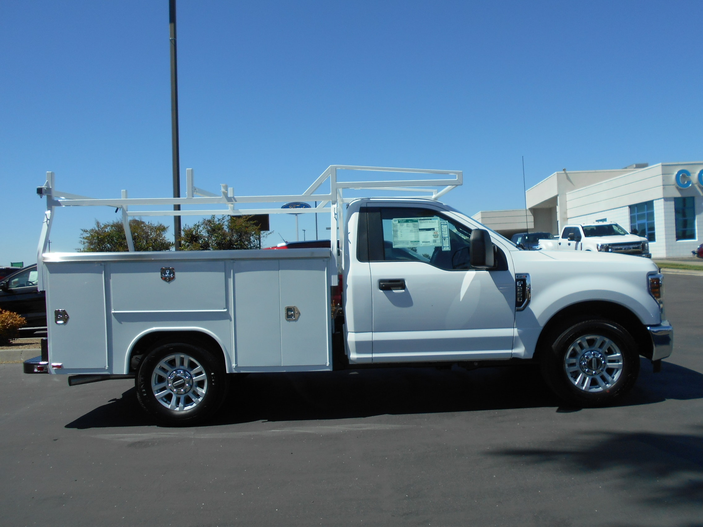 2018 F-250 Regular Cab 4x2,  Harbor TradeMaster Service Body #54055 - photo 7