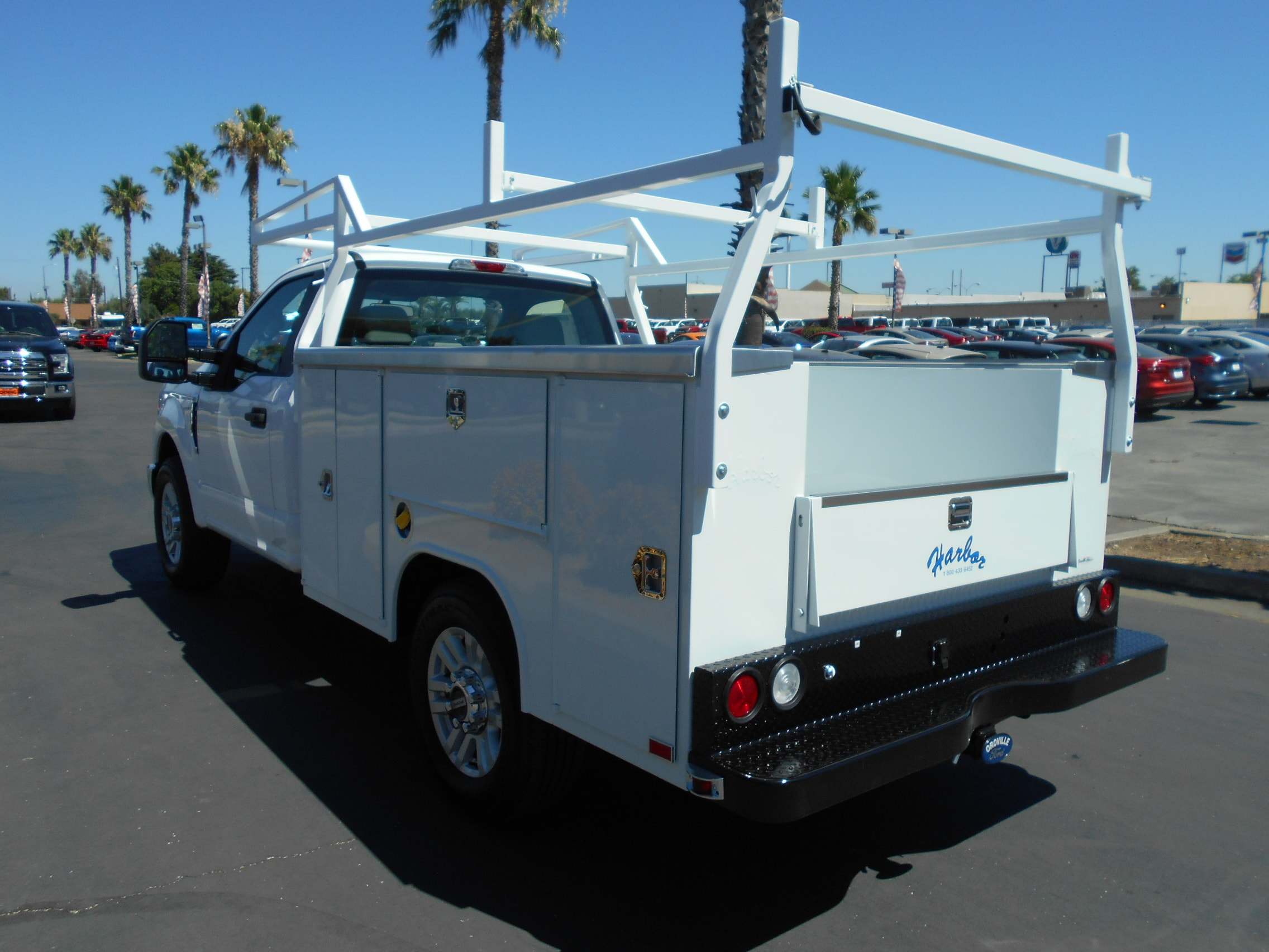 2018 F-250 Regular Cab 4x2,  Harbor TradeMaster Service Body #54055 - photo 2
