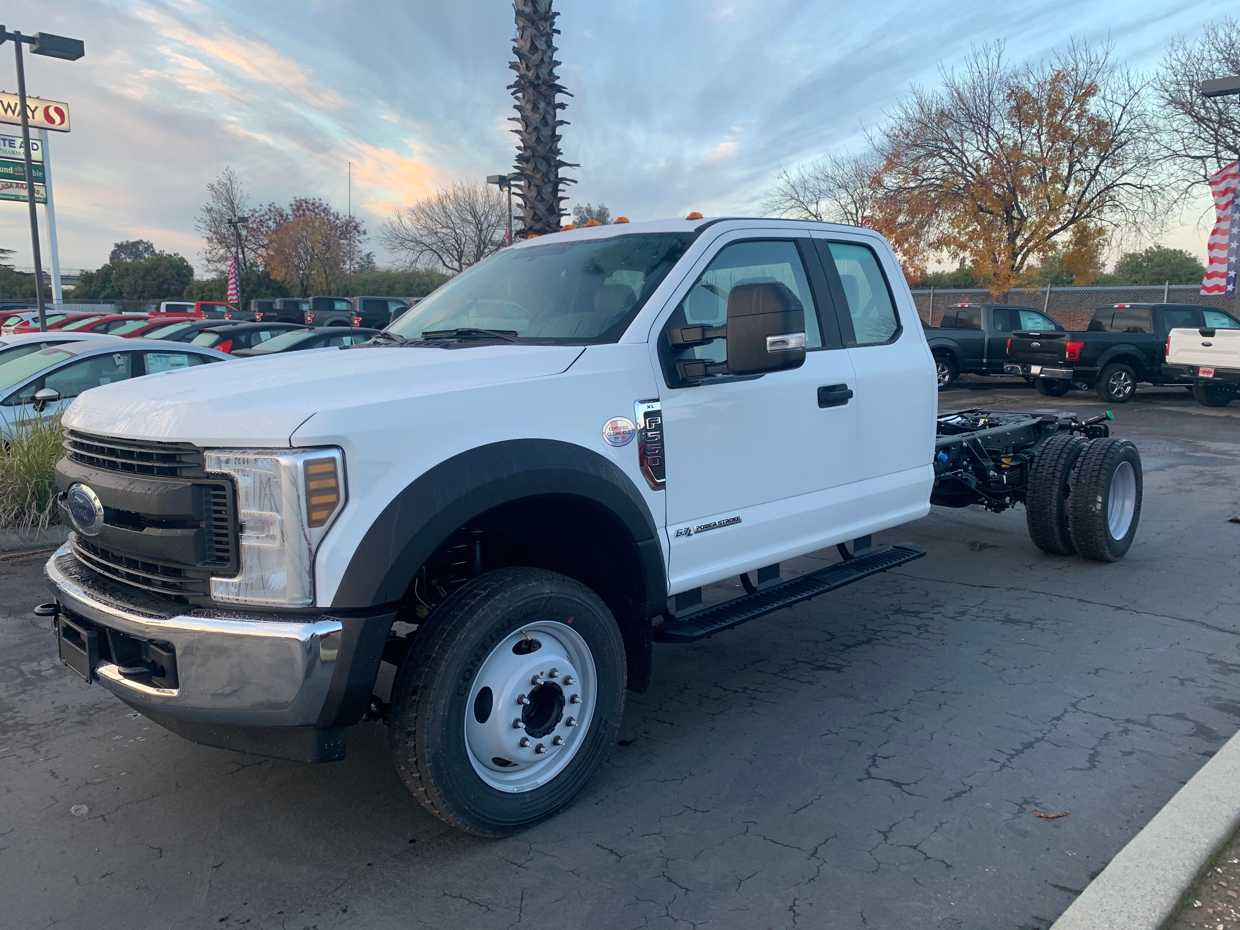 2019 F-550 Super Cab DRW 4x2,  Cab Chassis #54476 - photo 1