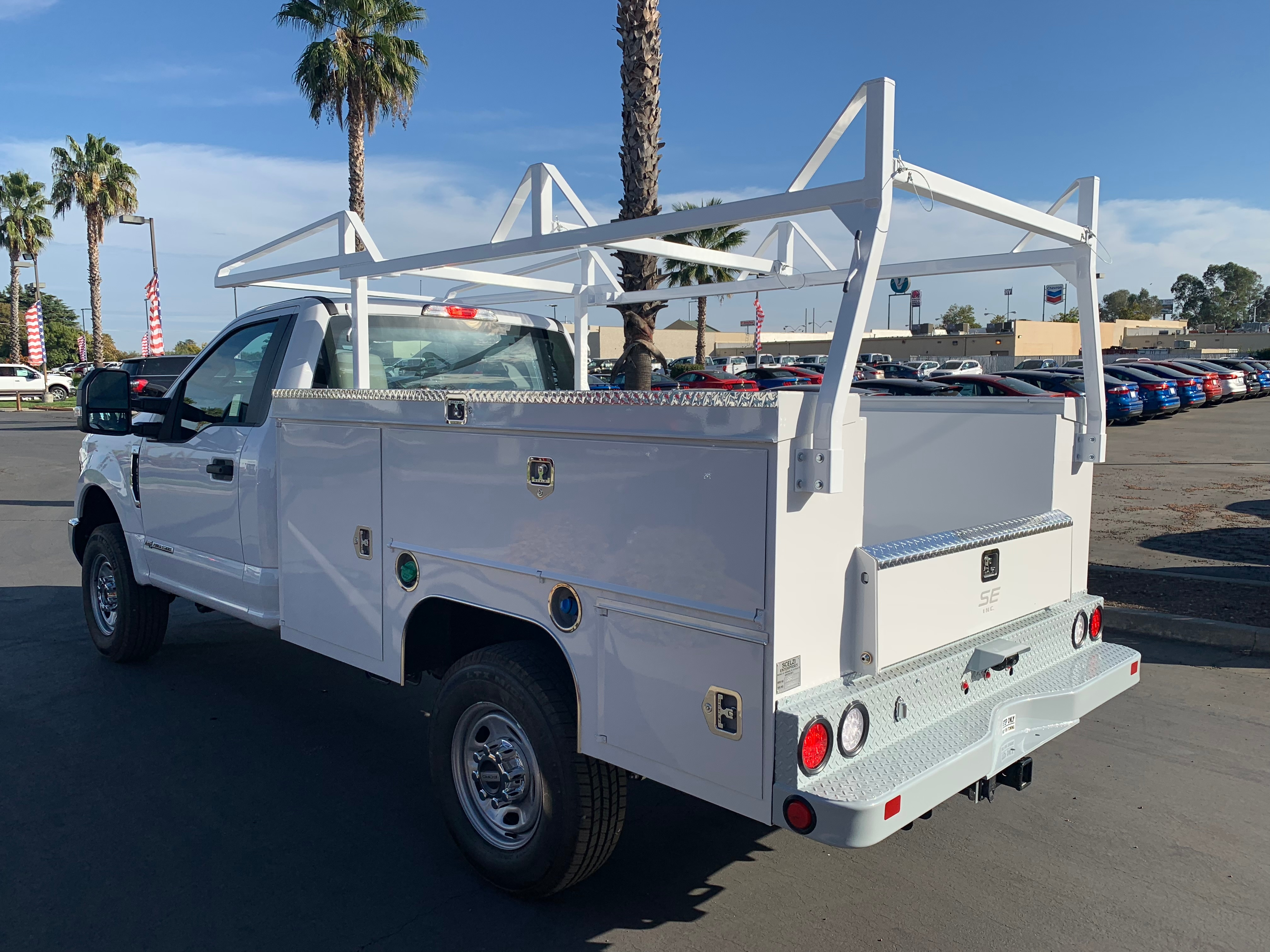 2019 F-250 Regular Cab 4x4,  Scelzi Service Body #54528 - photo 2