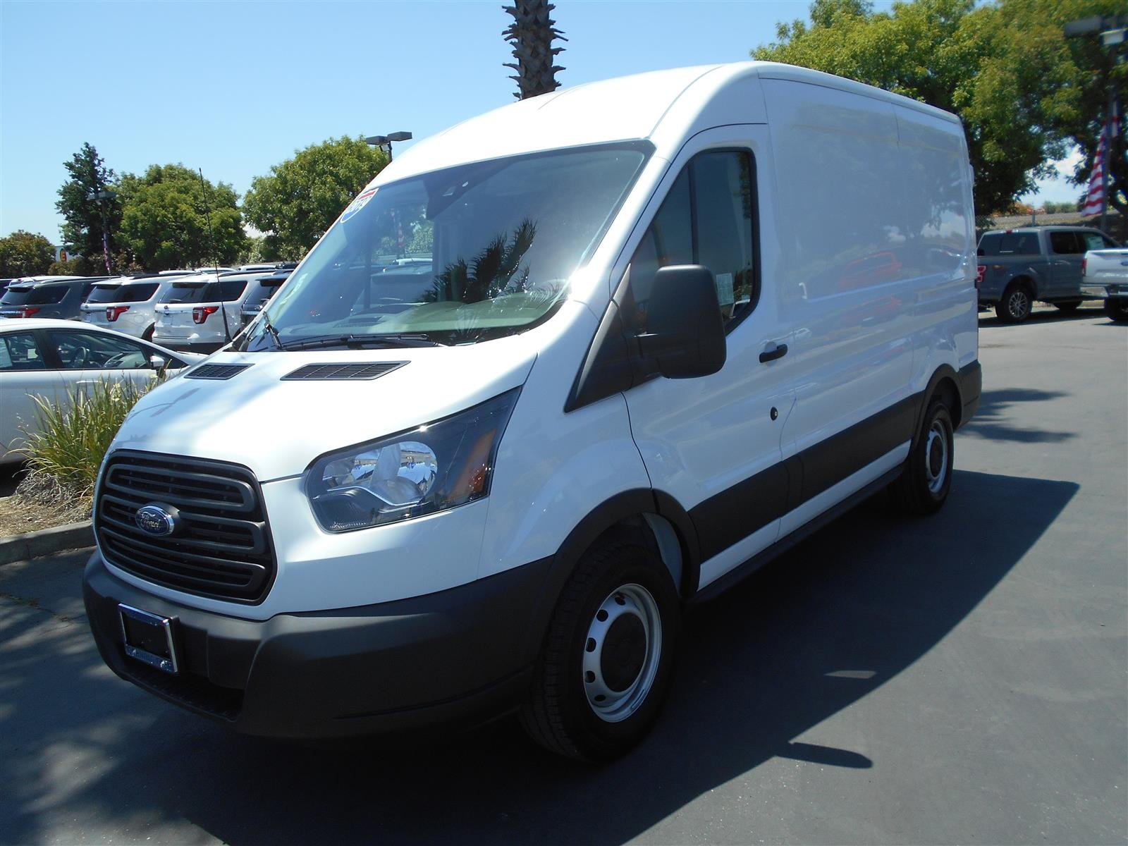 2019 Ford Transit 150 Med Roof RWD, NorCal Vans Upfitted Cargo Van #54566 - photo 1