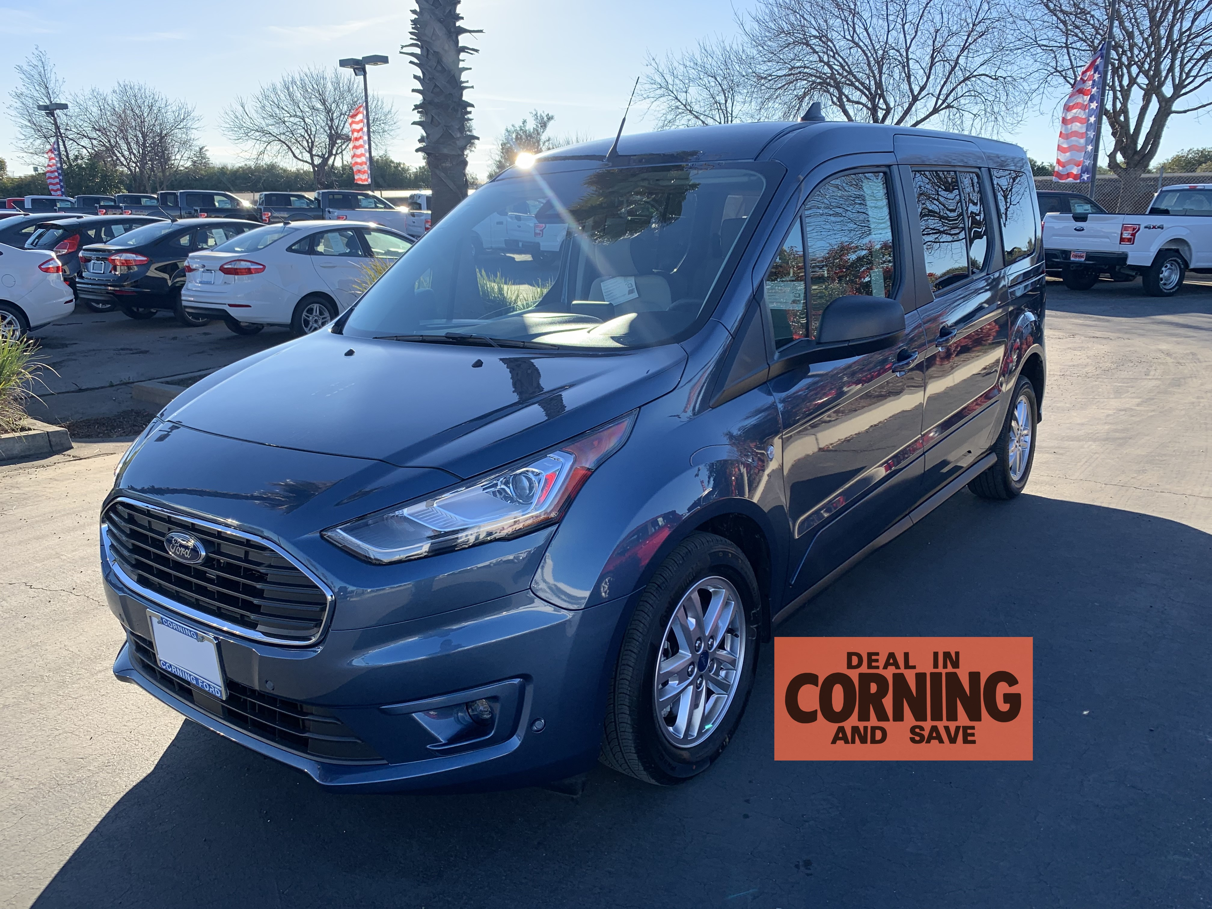 New 2019 Ford Transit Connect Passenger Wagon For Sale In Corning