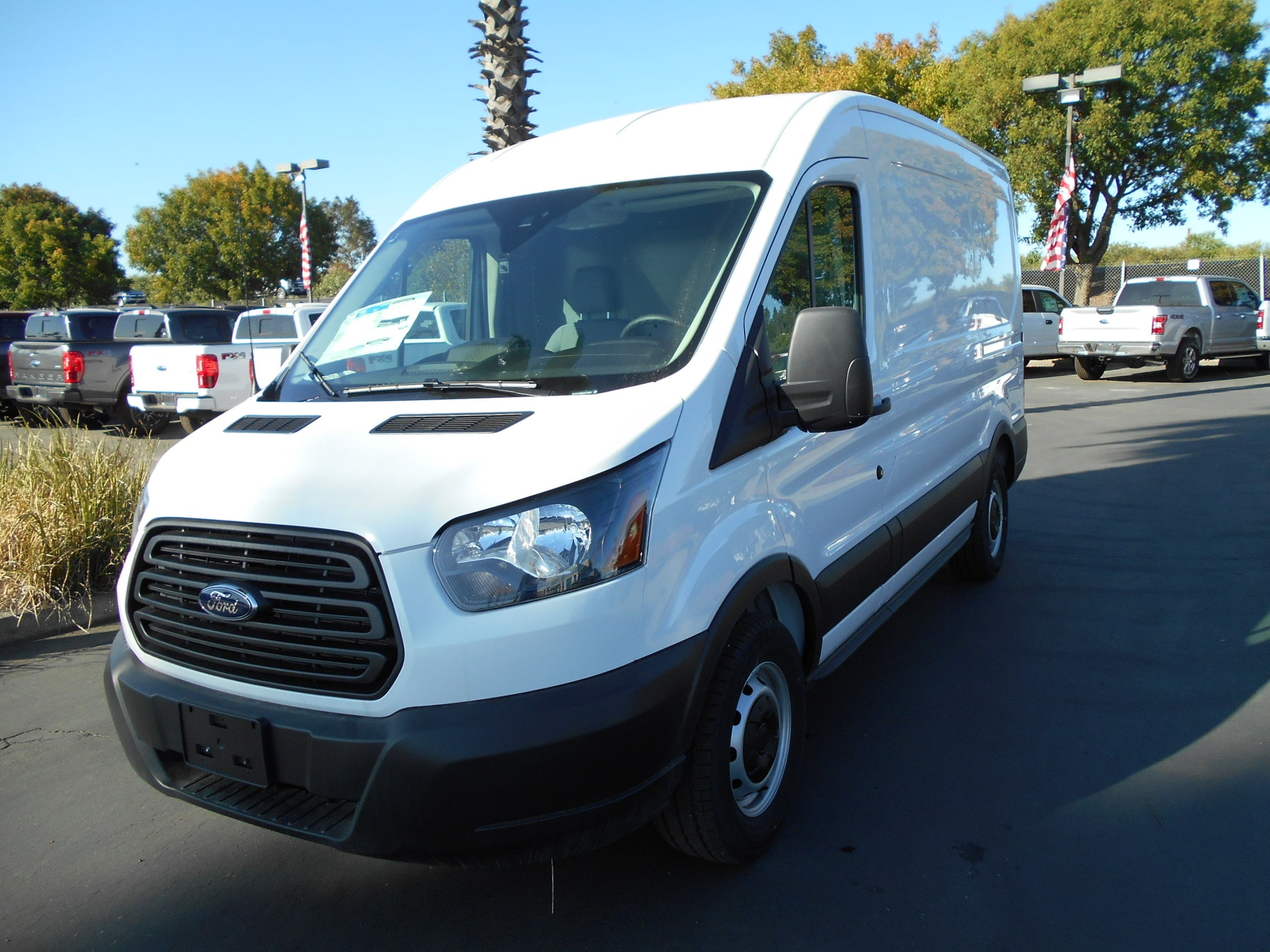 2019 Ford Transit 150 Med Roof 4x2, NorCal Vans Upfitted Cargo Van #55064 - photo 1