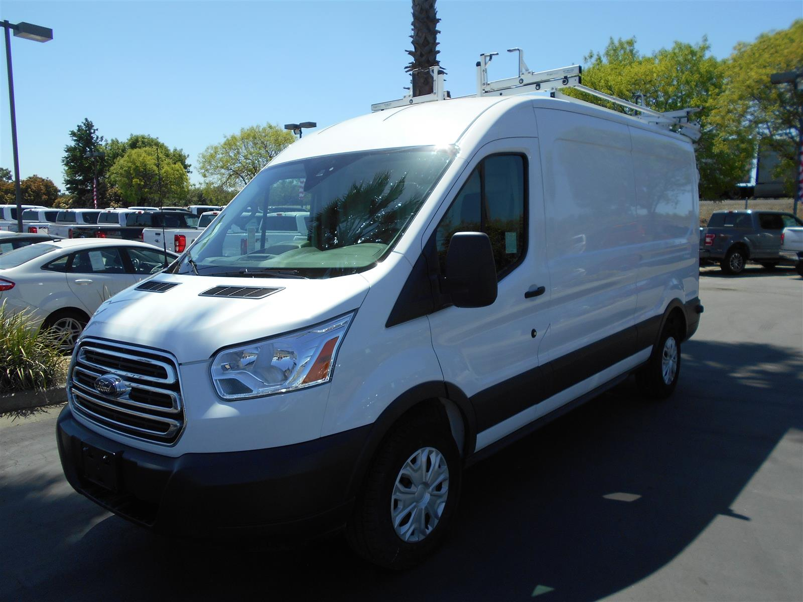 2018 Ford Transit 250 Med Roof 4x2, Sortimo Upfitted Cargo Van #55297 - photo 1