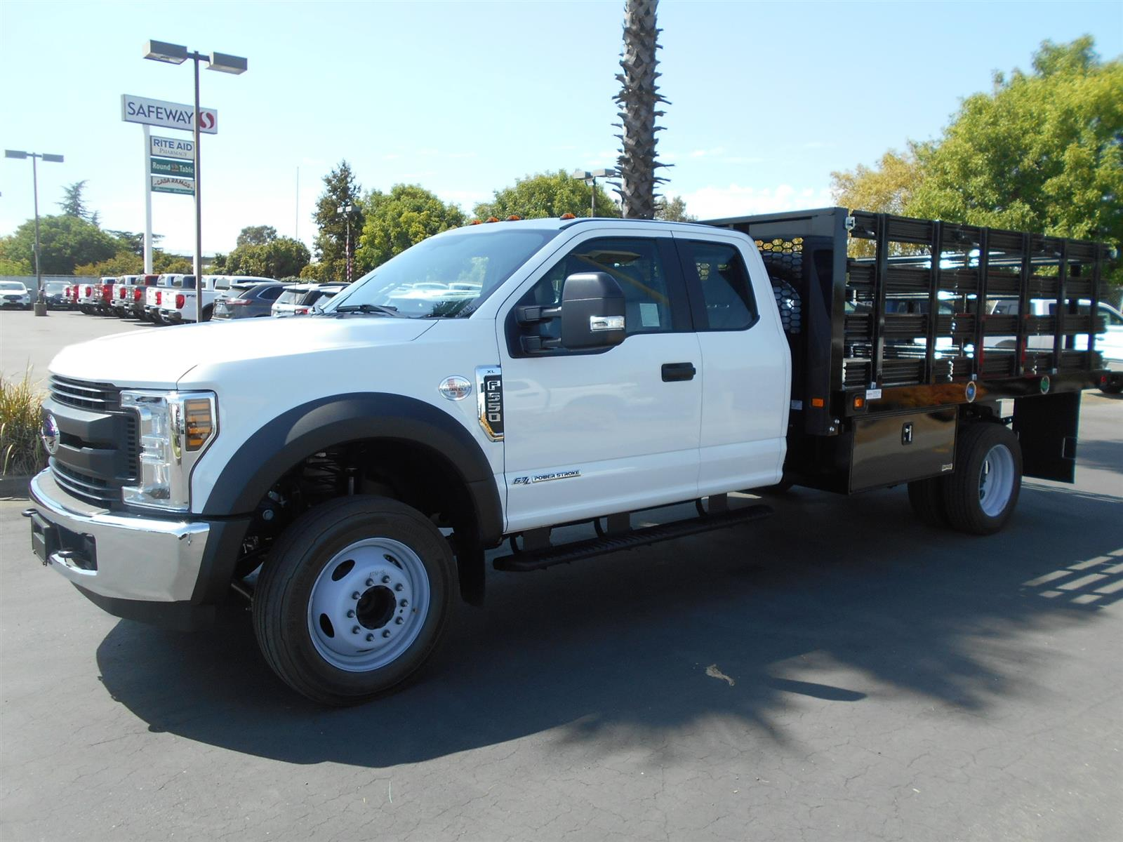 2019 Ford F-550 Super Cab DRW 4x2, Knapheide Stake Bed #55329 - photo 1