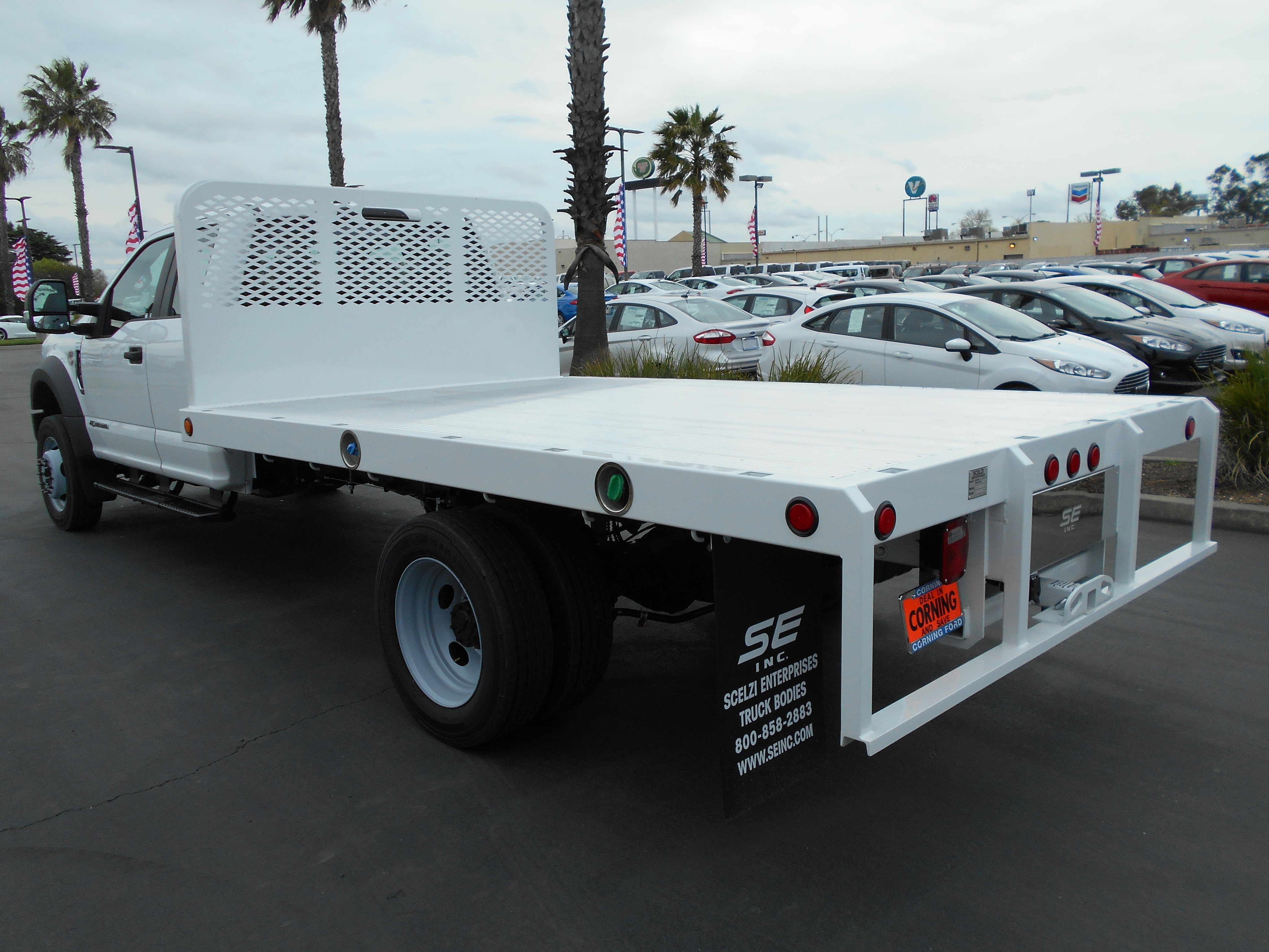 New 2019 Ford F 450 Flatbed For Sale In Corning Ca 55574