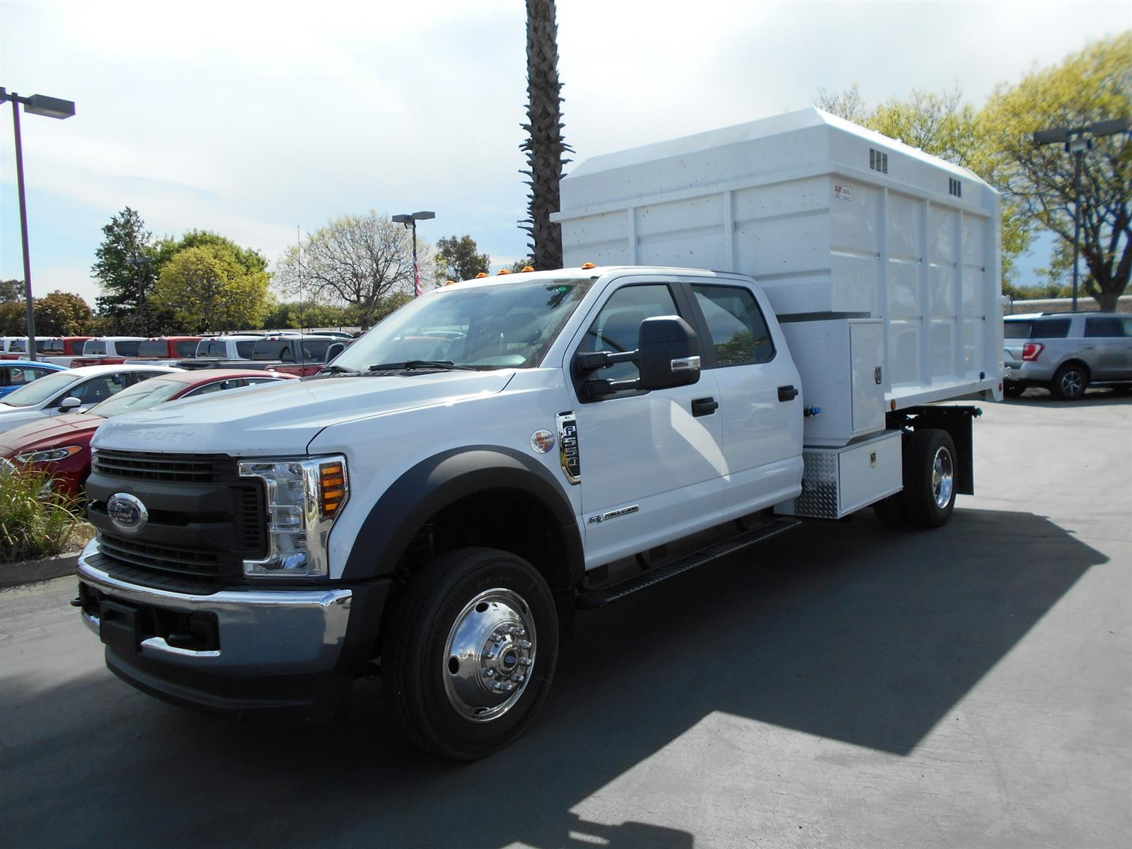 2019 Ford F-550 Crew Cab DRW 4x4, Scelzi Chipper Body #56481 - photo 1
