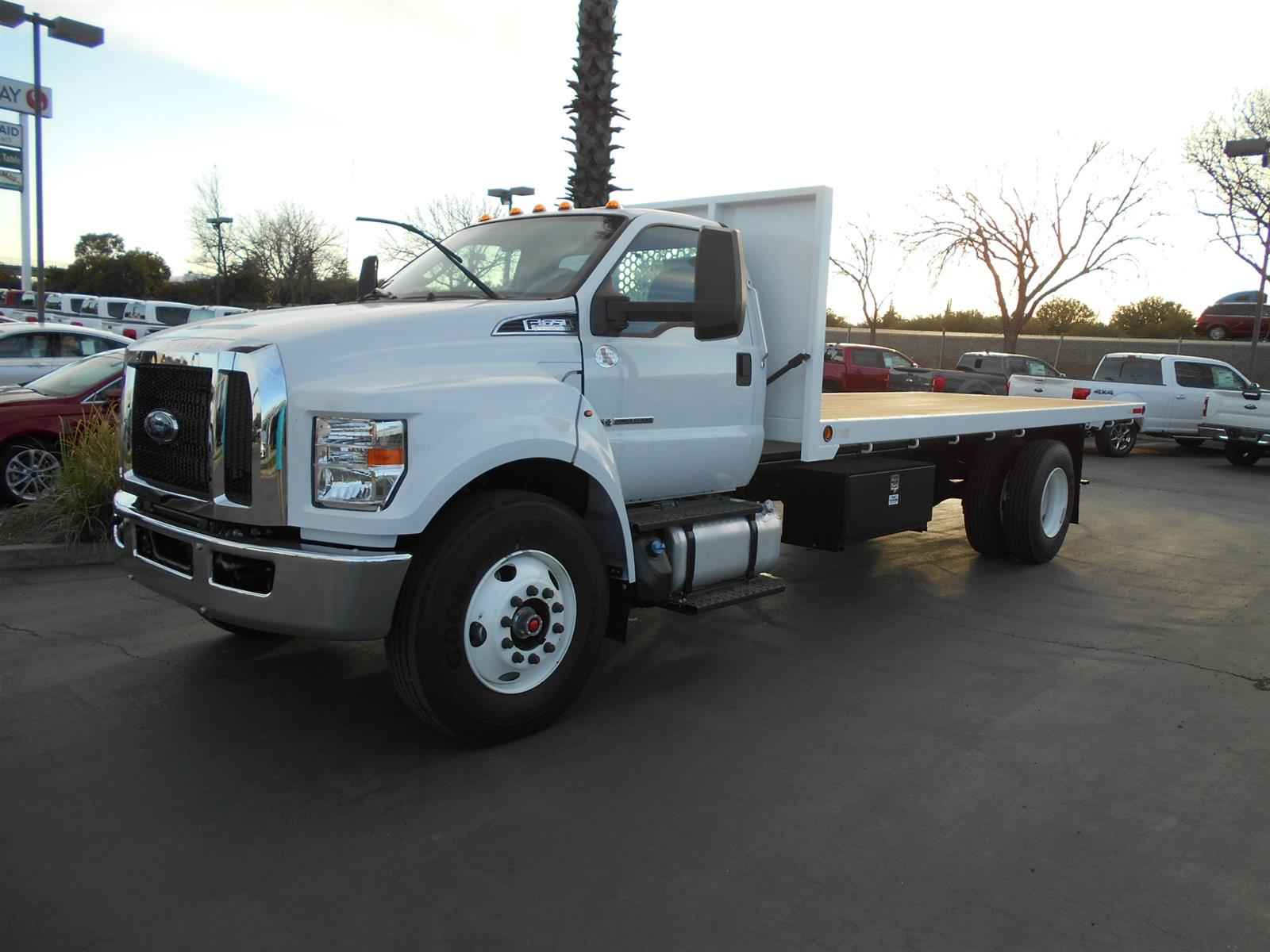 2019 Ford F-650 Regular Cab DRW RWD, Enoven Platform Body #56839 - photo 1