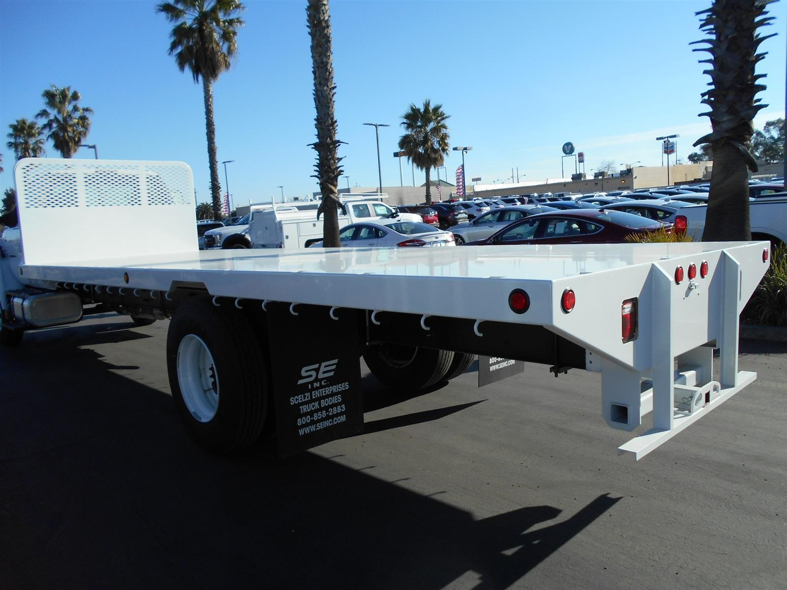 2019 Ford F-650 Regular Cab DRW 4x2, Scelzi Platform Body #57259 - photo 1
