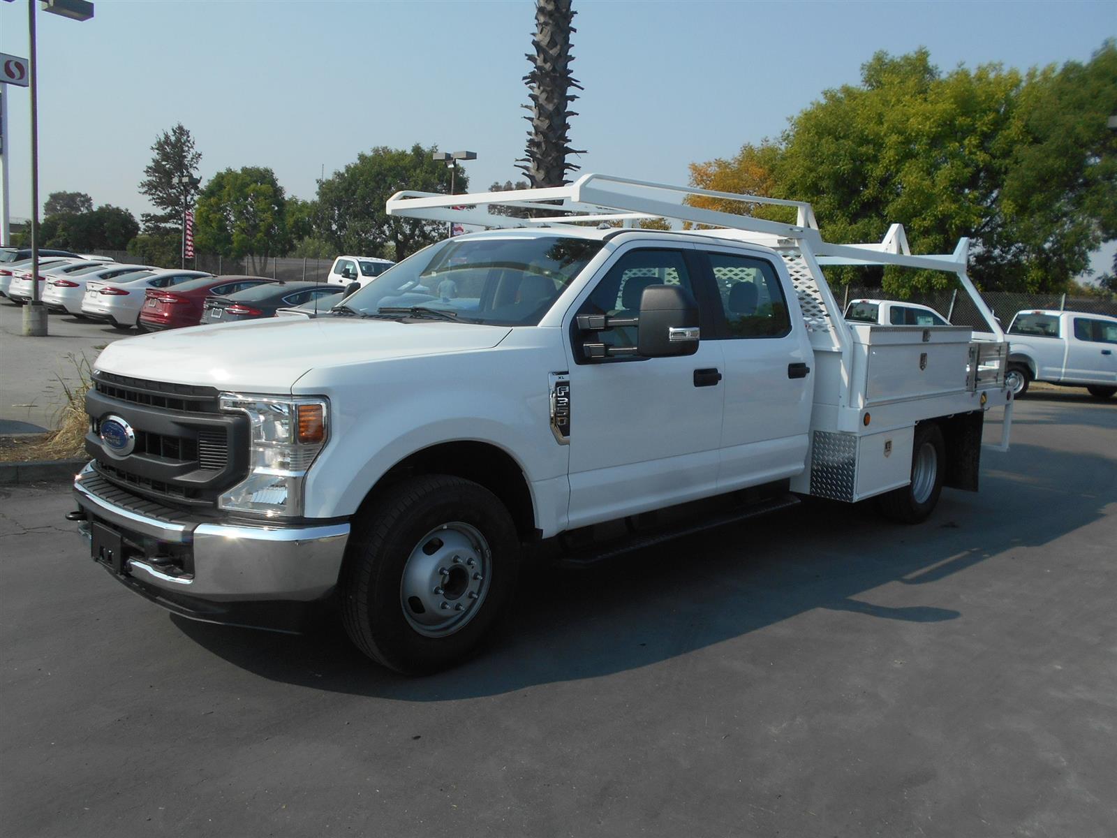 2020 Ford F-350 Crew Cab DRW 4x2, Scelzi Contractor Body #57492 - photo 1