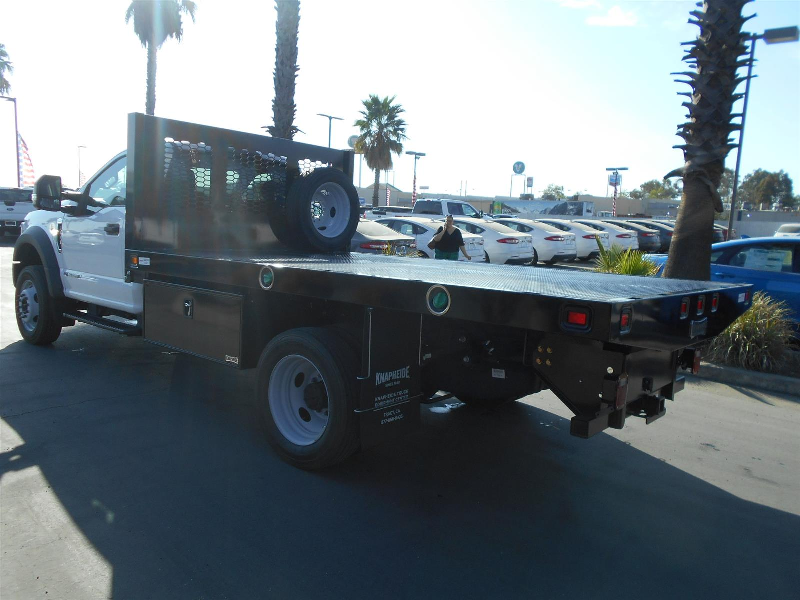 2020 Ford F-550 Regular Cab DRW 4x4, Knapheide Platform Body #57580 - photo 1