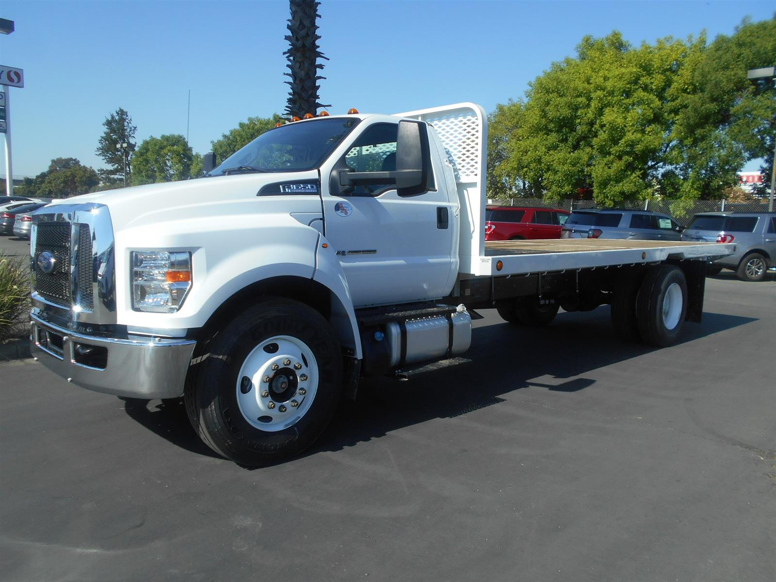 2021 Ford F-650 Regular Cab DRW RWD, Scelzi Platform Body #57958 - photo 1