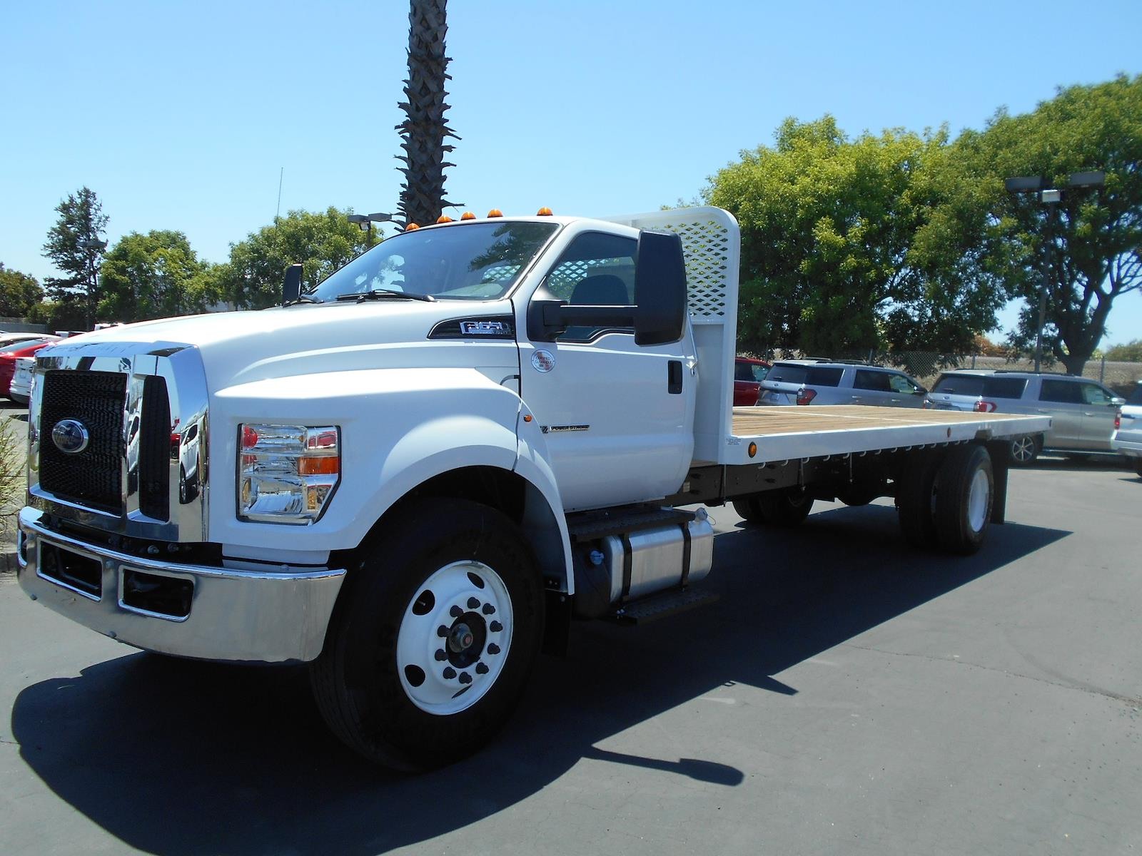 2021 Ford F-650 Regular Cab DRW 4x2, Scelzi Platform Body #57995 - photo 1