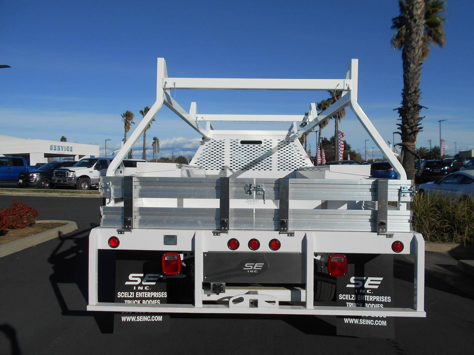 2020 Ford F-550 Super Cab DRW AWD, Scelzi Contractor Body #58826 - photo 1