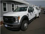 2017 F-450 Crew Cab DRW 4x4, Contractor Body #4684 - photo 1