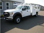 2018 F-450 Super Cab DRW 4x2,  Harbor Contractor Body #4685 - photo 1
