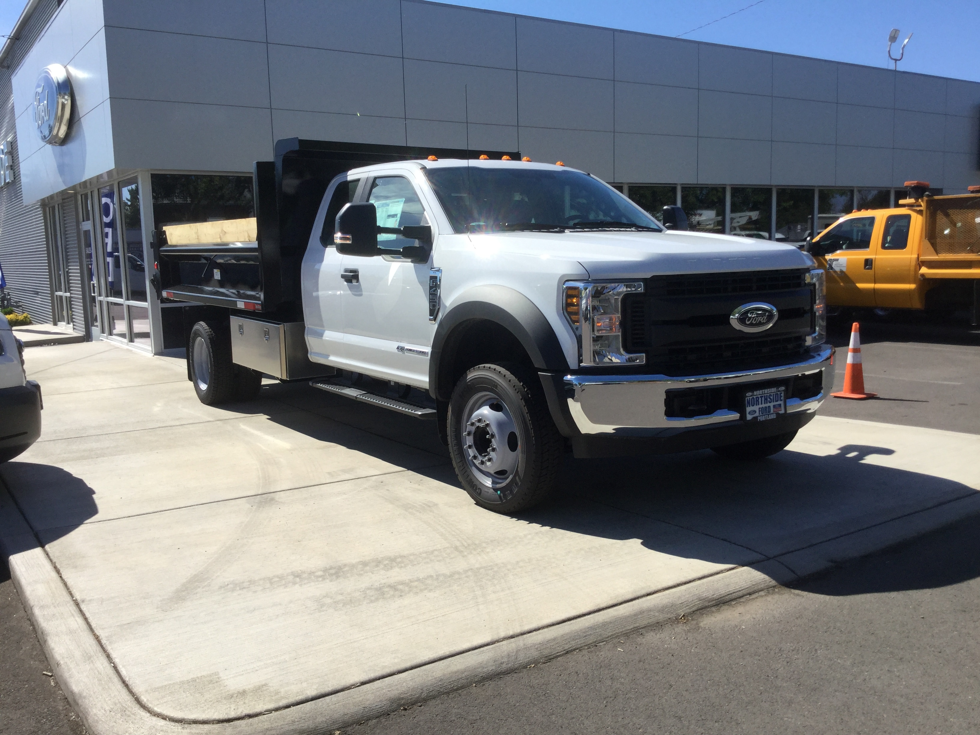 2018 F-450 Super Cab DRW 4x2,  Dump Body #4686 - photo 1