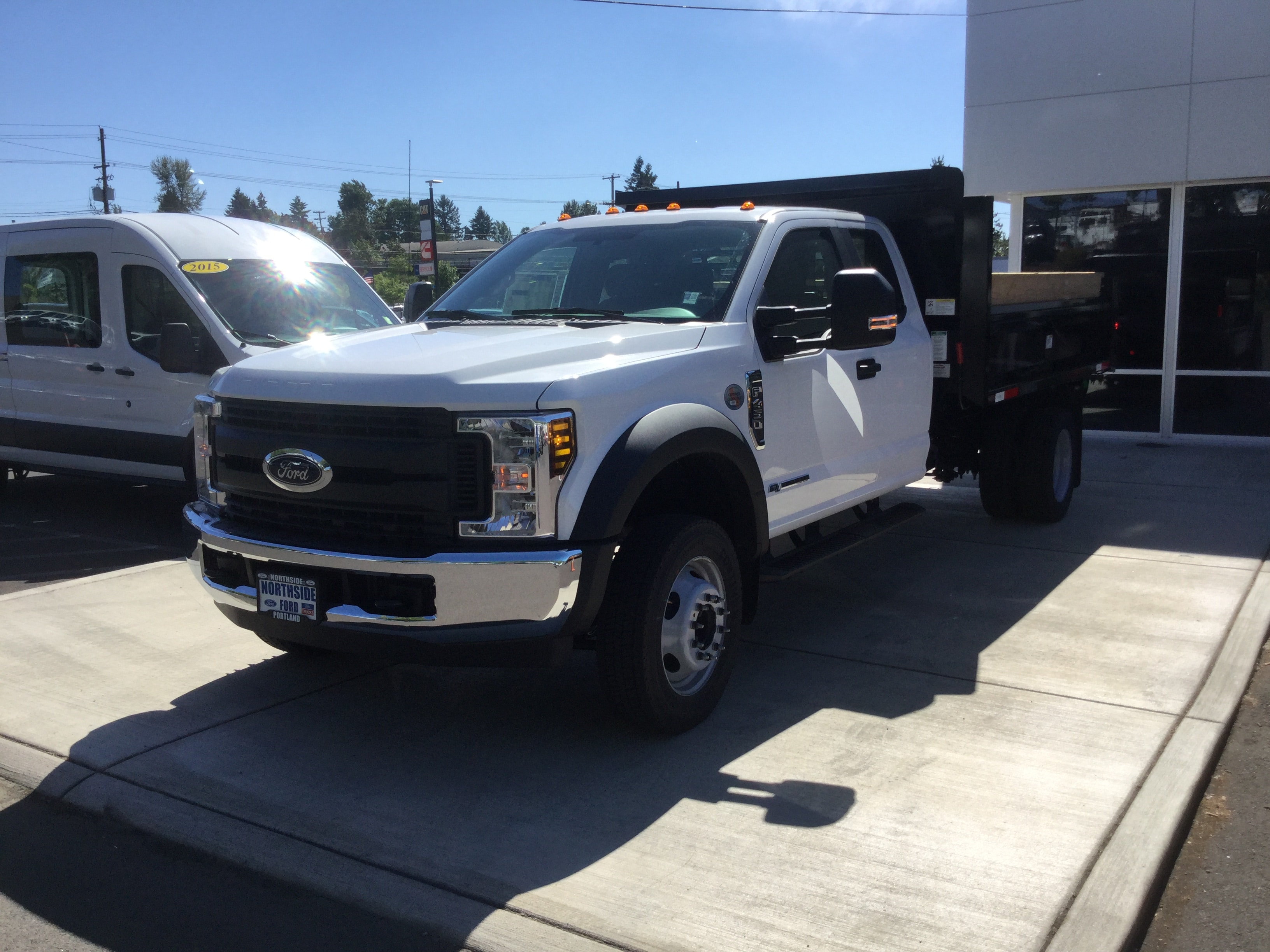 2018 F-450 Super Cab DRW 4x2,  Henderson Dump Body #4686 - photo 4