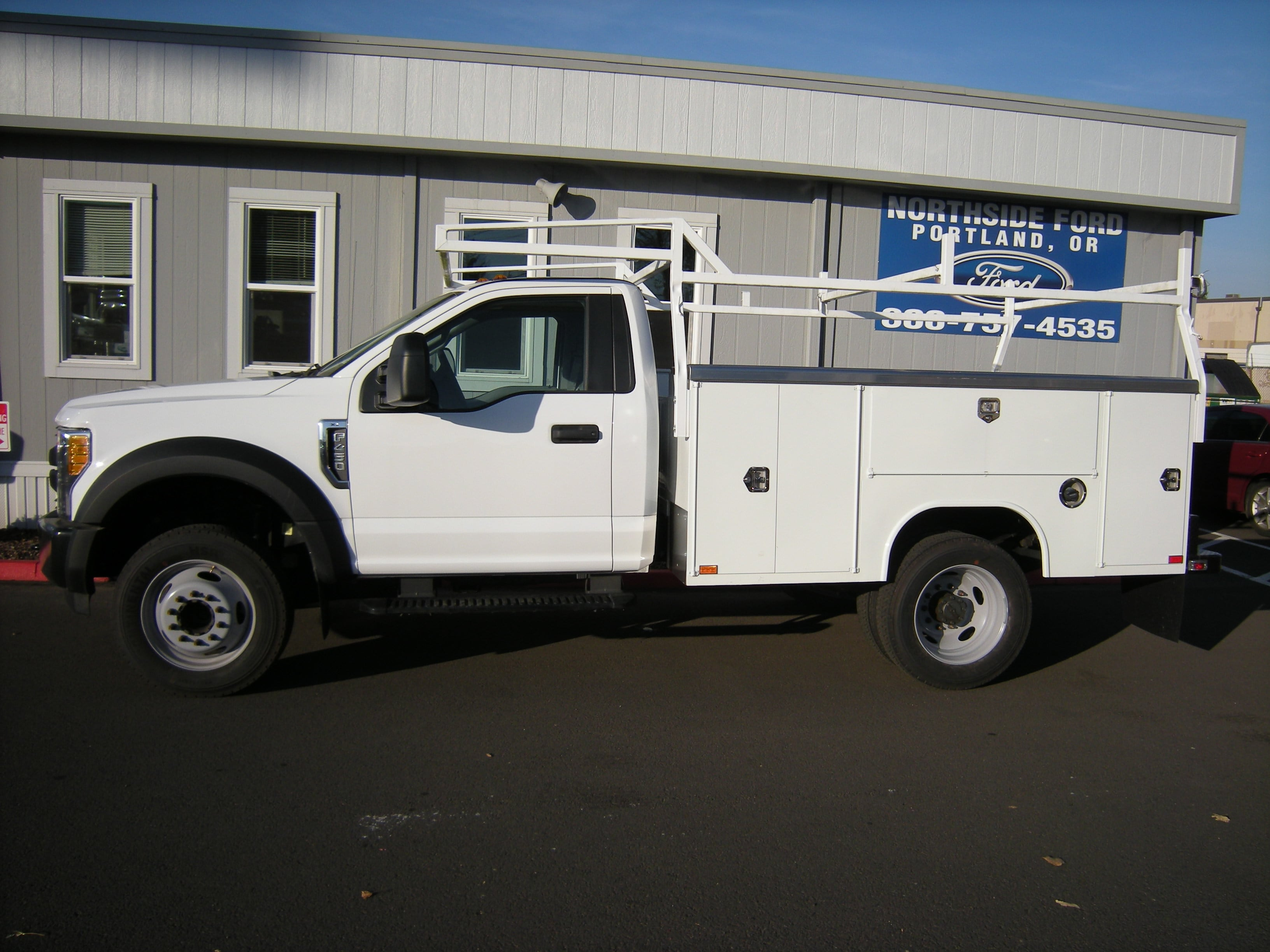 2017 F-450 Regular Cab DRW 4x2,  Harbor Service Body #4747 - photo 4