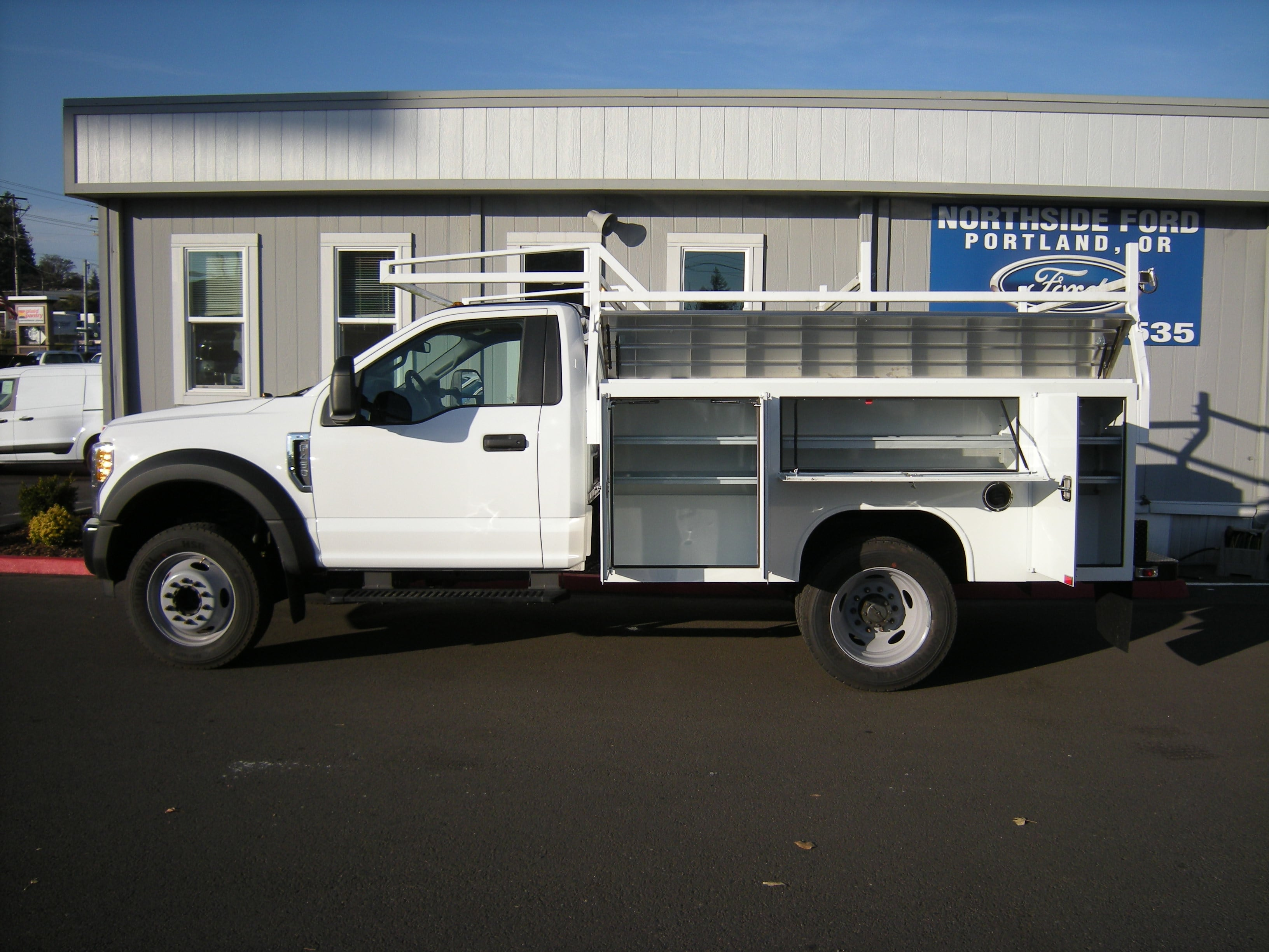 2017 F-450 Regular Cab DRW 4x2,  Harbor Service Body #4747 - photo 6