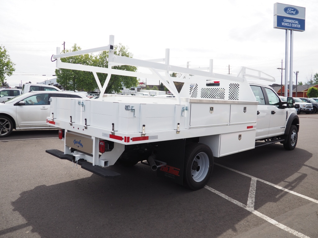 2020 Ford F-450 Crew Cab DRW 4x4, Harbor Standard Contractor Body #4839 - photo 5