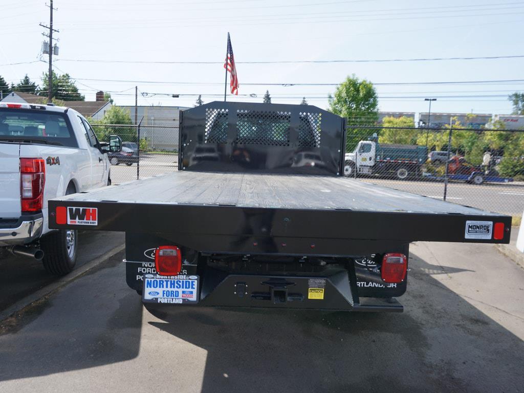 2021 Ford F-450 Regular Cab DRW 4x2, Monroe Work-A-Hauler II Platform Body #4854 - photo 11
