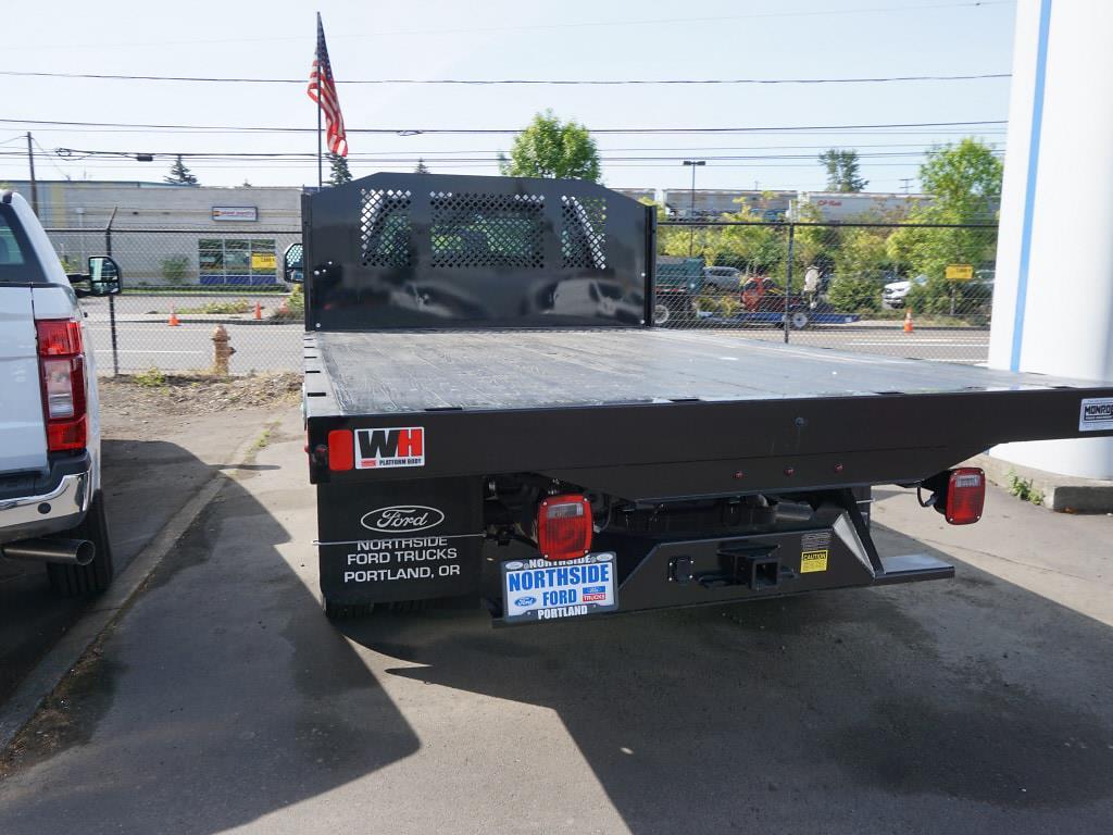 2021 Ford F-450 Regular Cab DRW 4x2, Monroe Work-A-Hauler II Platform Body #4854 - photo 12