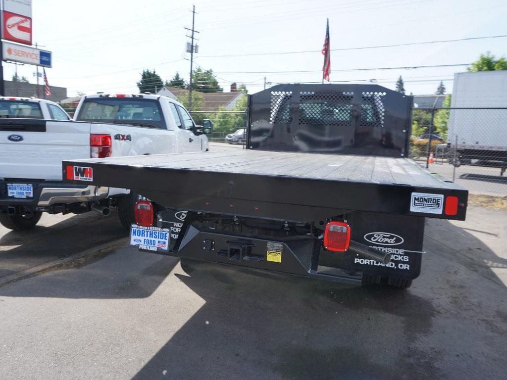 2021 Ford F-450 Regular Cab DRW 4x2, Monroe Work-A-Hauler II Platform Body #4854 - photo 10