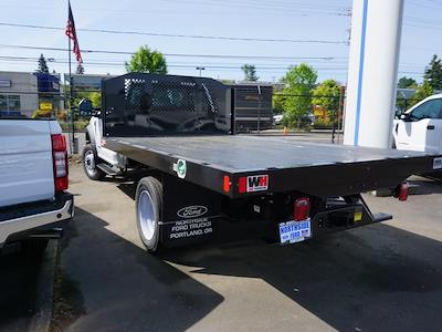 2021 Ford F-450 Regular Cab DRW 4x2, Monroe Work-A-Hauler II Platform Body #4854 - photo 2
