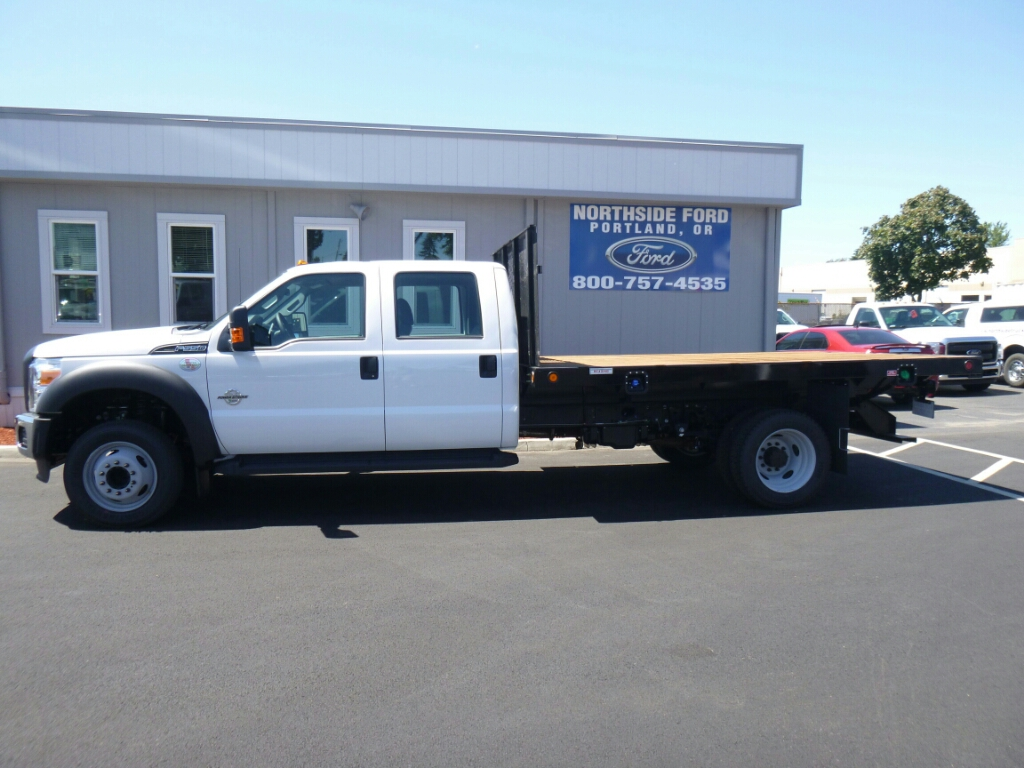 2016 F-550 Crew Cab DRW, Reading Platform Body #5368 - photo 3